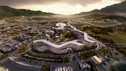 Esfera City Center Monterrey – Zaha Hadid