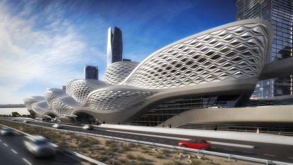 KAFD Metro Station Competition – ZahaHadid