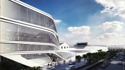 Rome headquarter – Zaha Hadid Architects